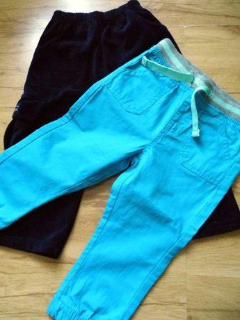 2 pary nowych spodni dla chłopca, rozm 92,wysyłka 1zł