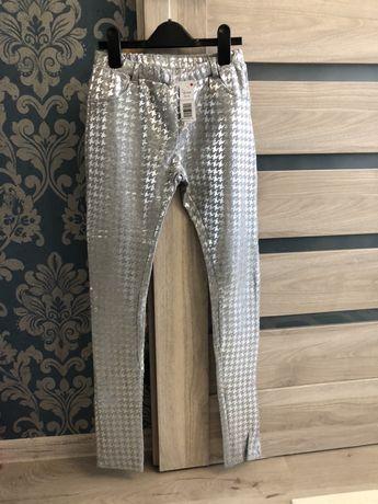 Блестящие брюки idexe h&m zara next george штаны