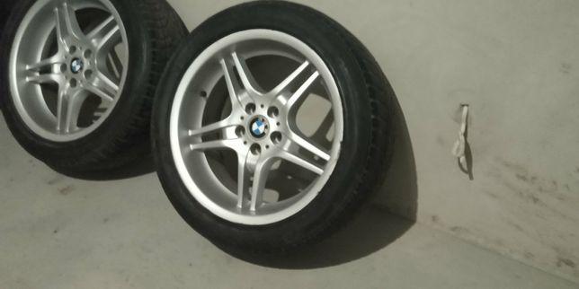 Диски титанові на бмв рідкісні 125 стиль різноширокі р19 колеса