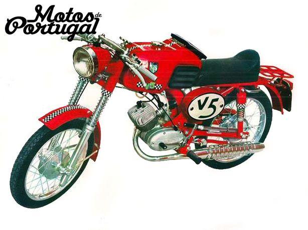 Autocolantes S.I.S. Sachs V5 Sport