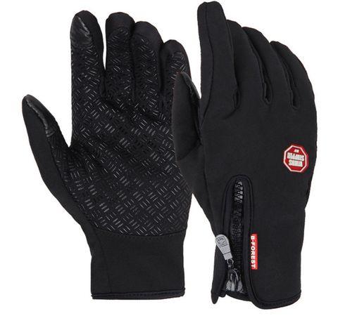 Вело-лыжные перчатки Windstopper спорт непродуваемые рукавиці для бега