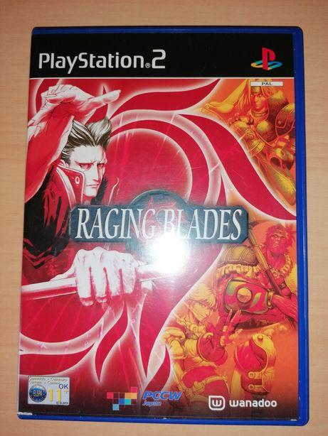 Jogo PS2 ( PlayStation 2 ) Raging Blades