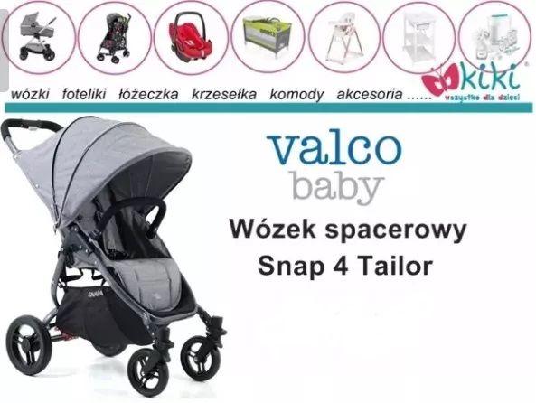 Wózek spacerowy dla dziecka Valco Baby Snap 4 Tailor