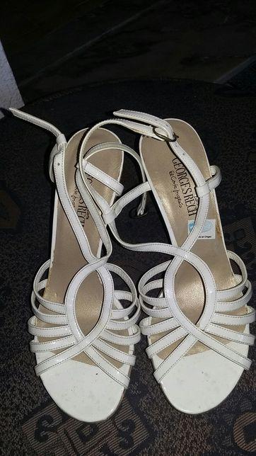 Sandália branca