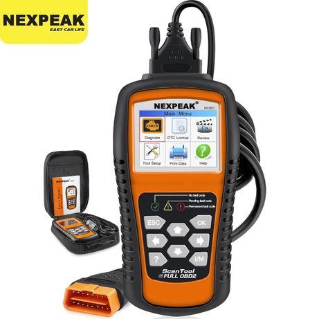 Máquina diagnóstico auto obd2 & eobd scanner Nexpeak
