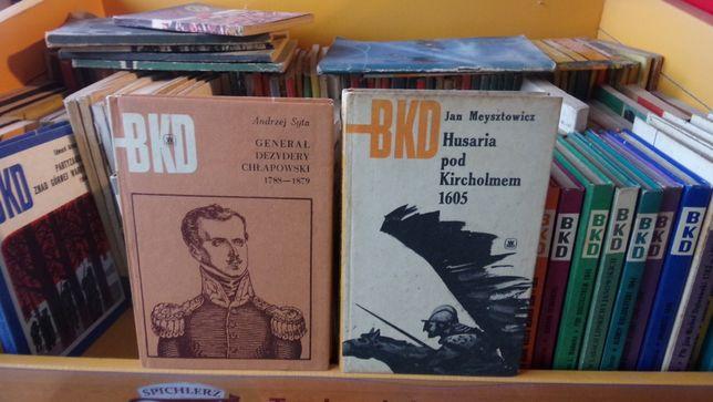 książki z seria BKD 80 szt