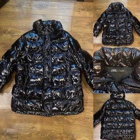 Продам шикарный тёплый пуховик, куртка, пуфер Zara