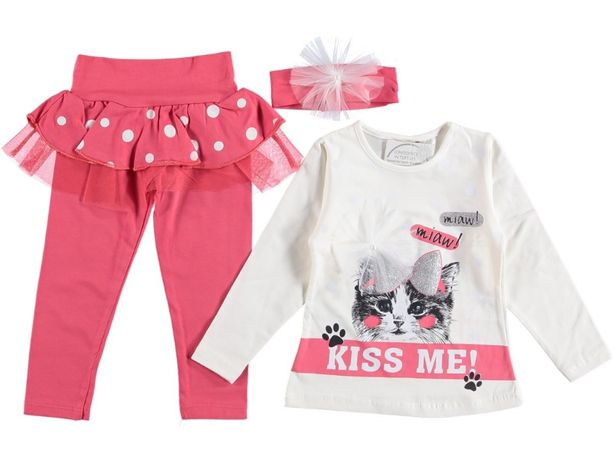 Спортивный костюм, комплект тройка на девочку 2-3 года, 4-5 лет