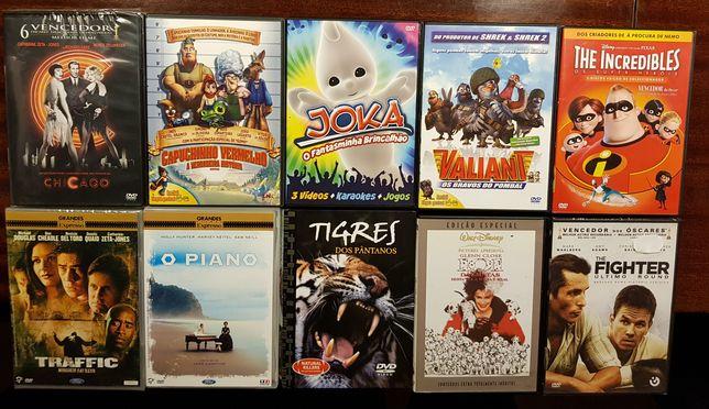 5 dvd's à escolha