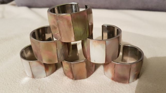 Obrączki - pierścienie do serwetek