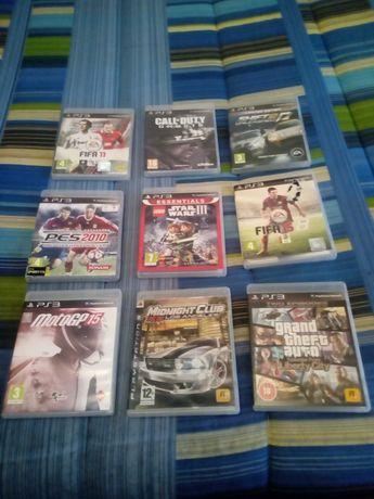 Vendo jogos ps3 praticamente novos