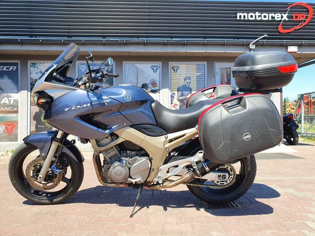Yamaha TDM900 TDM 900 kufry Motorex DP Gniezno