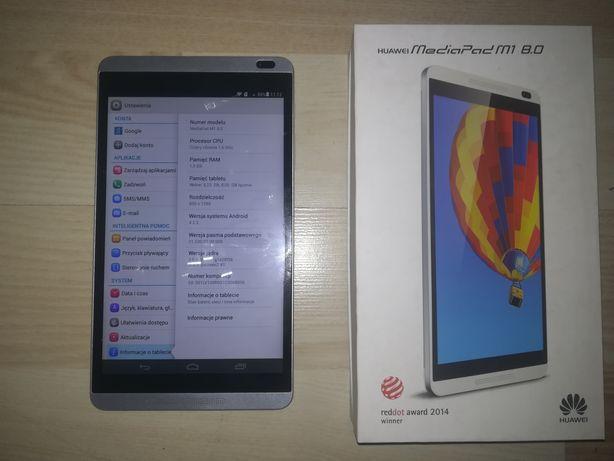 Sprzedam tablet Huawei MediaPadM1 8.0 lte, hs+, GSM, GPS