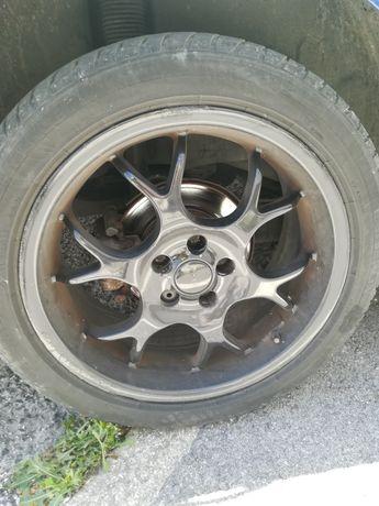 Jantes 17 5*100 tem pneus 205*50