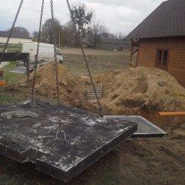 Szamba betonowe, Zbiornik betonowy na szambo, Zbiorniki na deszczówkę