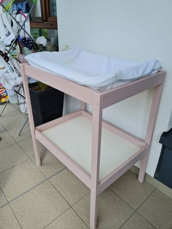 Przewijak IKEA w komplecie z materacykiem i pokrowcem