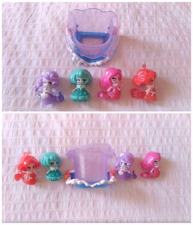 Glimmies aquaria 4 figuras e balde