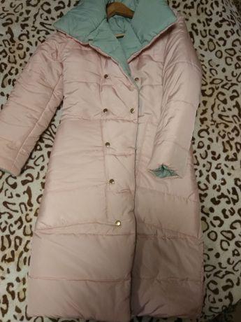 Куртка теплая зима- холодная осень