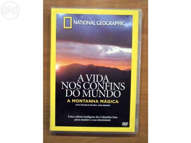 DVD - A Montanha Mágica - National Geographic (Original)