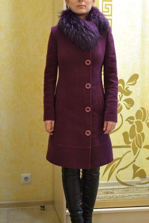 Пальто кашемировое размер 42, XS-S пальто кашемірове