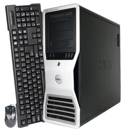 Сервер Dell Precision T7500 два процессора Xeon5660 4x 3,2ГГц ОПТ Розн