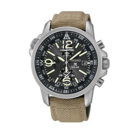 ОРИГИНАЛ | НОВЫЕ: Культовые мужские часы Seiko SSC293P1. ГАРАНТИЯ!