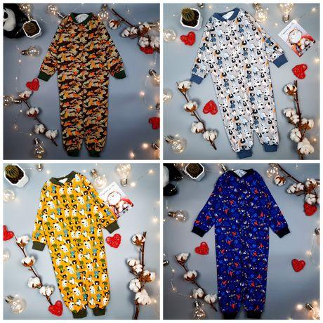 Спальник пижама кигуруми слип піжама сліп кігурумі Р 74-80-86-92 см