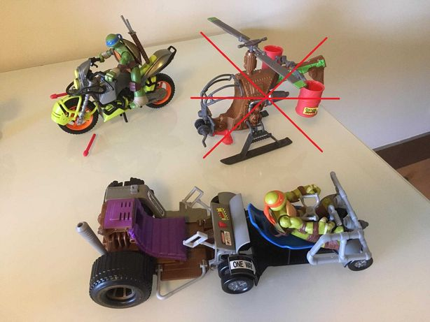 Tartarugas Ninja- Veículos