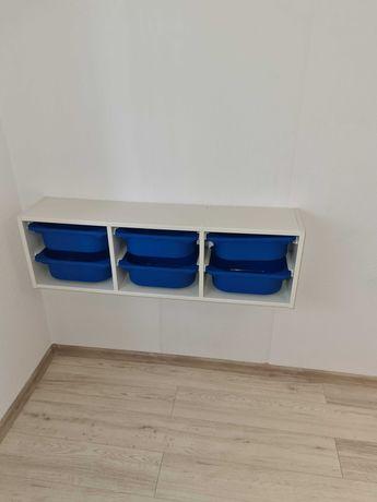 Ikea Regał plus pudełka