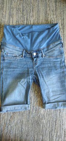 Krótkie spodnie ciążowe hm 36