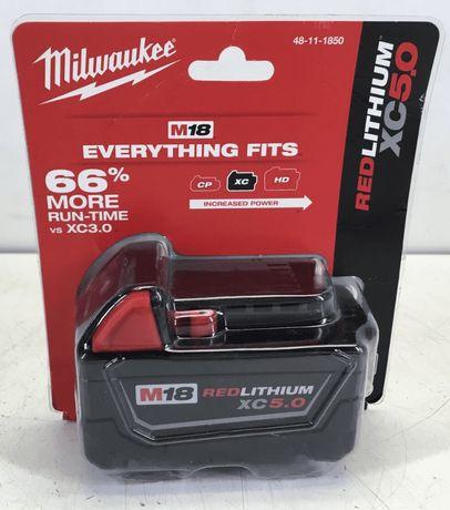 Аккумулятор Milwaukee M18 B5  5.0 Ah (48-11-1850) REDLITHIUM™