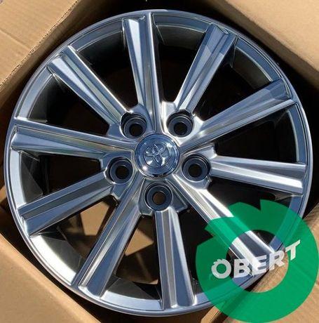 Новые литые диски 5*114.3 R16 на Toyota Camry Corolla RAV4 Auris