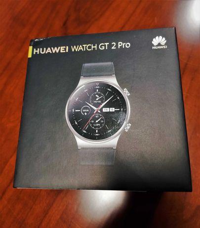 Smartwatch Huawei GT 2 Pro czarny dystrybucja PL NOWY, FV VAT 23%