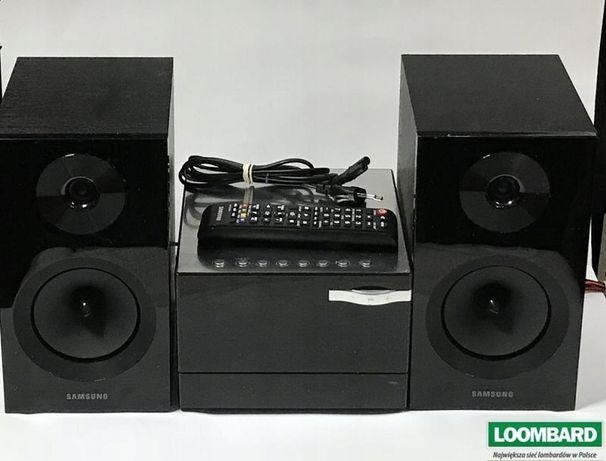wieża grająca dwa głośniki Samsung MM-E330