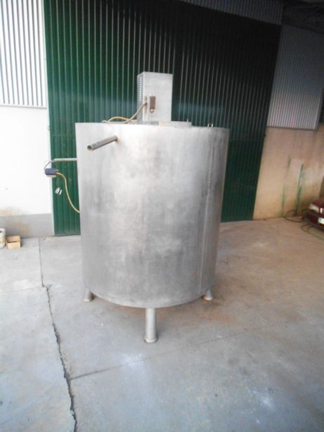 Cuba de Inox com refrigeração de 4000 L
