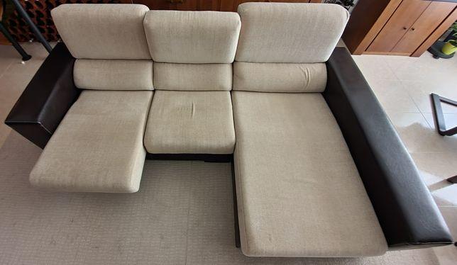 Sofá c/ chaise longue