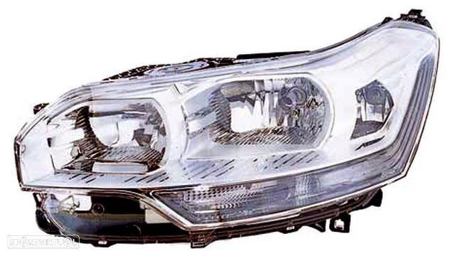 Farol Direito Eletrico Citroen C5 08-10 C/ Motor