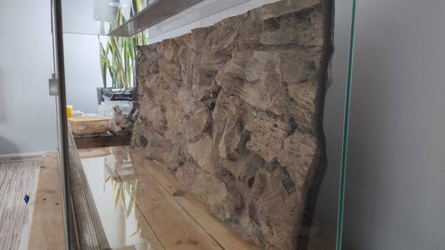 Tło Do akwarium lub terrarium 120x45