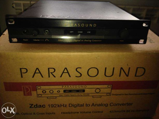 Продам ЦАП Parasound ZDac