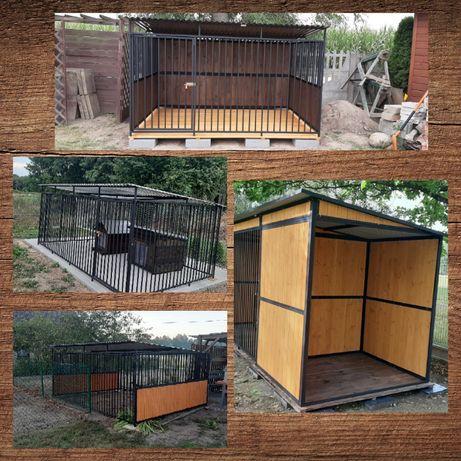 KOJEC dla psa 3x3m. Montaż GRATIS!! Zabudowy drewniane-schowki i inne