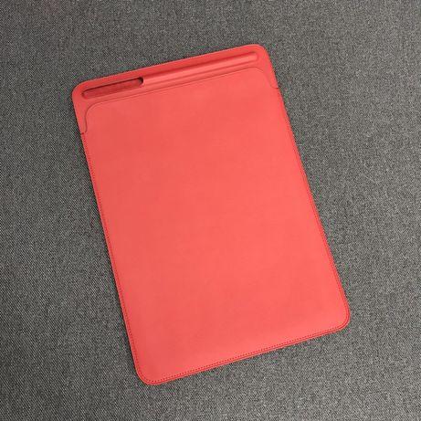 Кожаный чехол Apple Leather Sleeve (PRODUCT) Red (MR5L2) 10.5 дюймов