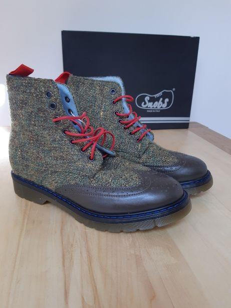 Snobshoes ботинки известного итальянского бренда обуви ручной работы
