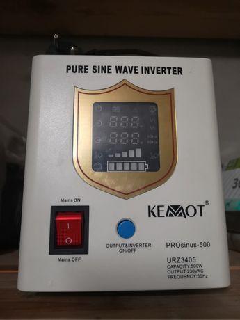 UPS Kemot, awaryjne źrodlo zasilania, agregat, zasilacz i akumulator
