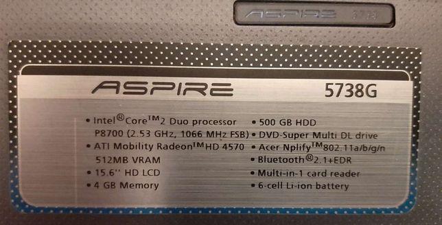 Laptop Acer 5738G, super stan