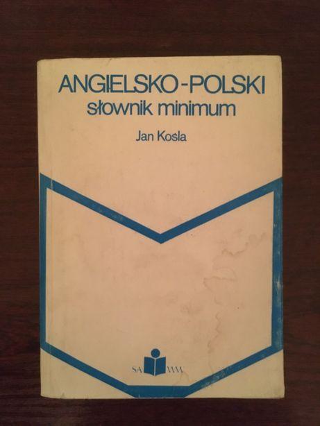 Jan Kośla - Angielsko-polski słownik minimum