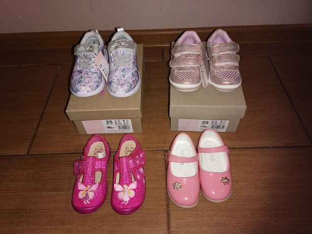 Nowe buty dla dziewczynki r. 25