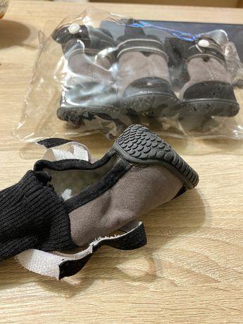 Утепленные ботинки для собак