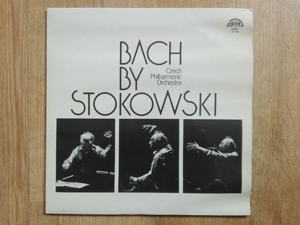 BACH BY STOKOVSKY filharmonia czeska winyl analog SŁUPSK stan BDB