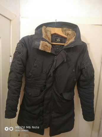 Зимняя куртка alpha industries W Аляска S оригинал