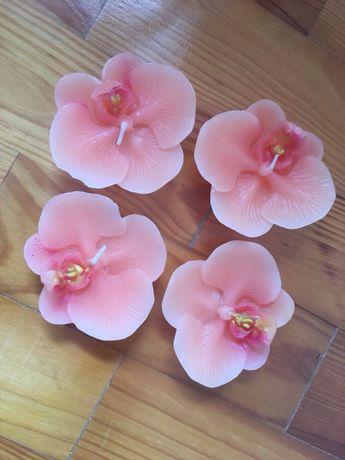 velas flores